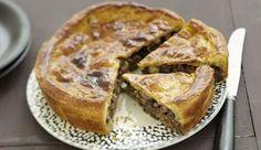 Συνταγή Αγίου Ορους: Καλαμποκόπιτα με μανιτάρια