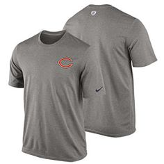 Get this Chicago Bears Gray Legend Practice T-Shirt at ChicagoTeamStore.com