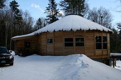 Possible permanent yurt home design