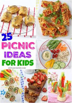 25 Easy & Healthy Picnic Food Ideas for Kids! 25 Easy & Healthy Picnic Food Ideas for Kids! Kids Picnic Foods, Best Picnic Food, Healthy Picnic Foods, Family Picnic, Healthy Food, Healthy Recipes, Pinic Food Ideas, Easy Picnic Food Ideas, Lunch Ideas