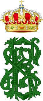 Royal Monogram of Charles Edward, Duke of Saxe-Coburg and Gotha