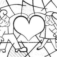 Desenho De Romero Britto Amor Para Colorir Romero Britto Obras