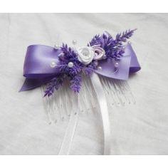 hřebínek levandulový Hair Bows, Projects To Try, Band, Wedding, Ribbons, Hair Ties, Casamento, Bias Tape, Ribbon