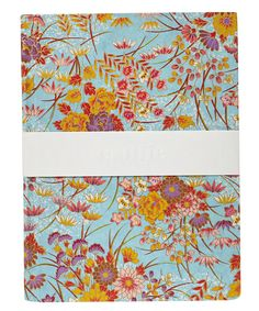 Medium Blue Handbound Notebook from the stationery collection