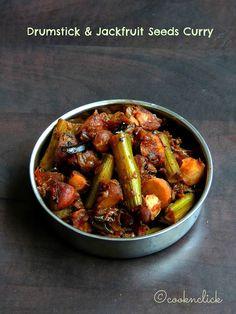 Drumstick & Jackfruit Seeds Curry