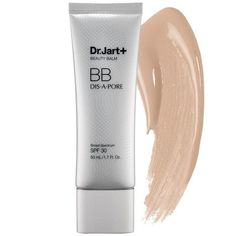 Dr. Jart Dis-A-Pore BB Cream smoothes over your pores and won't leave your skin feeling like an oil slick halfway through the day for combination or oily folks.