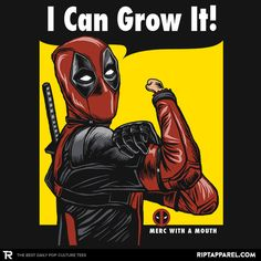 I Can Grow It! T-Shirt - Deadpool T-Shirt is $11 today at Ript!