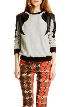 Loving this Rebecca Minkoff Sweatshirt!