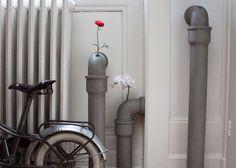 Fancy - Pipeline Concrete Bud Vases