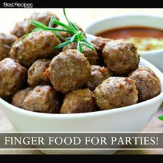 Entertaining this weekend? The best finger food recipes and cocktail party food ideas.