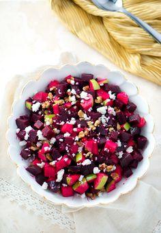 Roasted Beet and Apple Salad-3