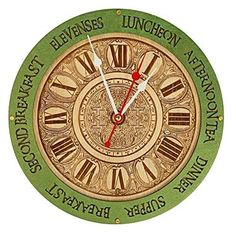 Best Anniversary Gifts for Parents: Unique Presents and Gift Ideas for Your Mom and Dad's Marriage Celebration 2020 - Our Peaceful Family Anniversary Gifts For Parents, Kitchen Wall Clocks, How To Make Wall Clock, Unique Wall Clocks, Wooden Walls, Unique Home Decor, Vintage Walls, House Warming, Art Decor