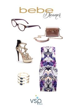 #Glasses complete any fall look—like this @bebe Dreamer outfit. The eyewear is available through VSP Direct (www.vspstyle.com), which covers affordable frames from top fashion brands like bebe. #VSPstyle