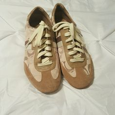 Authentic Coach Shoes NO OFFER These are in good used condition no damage Coach Shoes Sneakers
