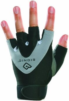 Bionic Mens StableGrip 12 Finger Fitness Gloves XLarge BlackGrey -- Find out more about the great product at the image link.