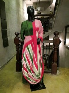 Assymetrical Draped Ikat Tunic is now available to be ordered at http://www.ekru.in/product/assymetrical-draped-ikat-tunic