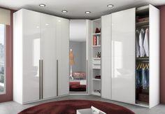Ikea Dressing Room, Armoire Dressing, Armoire D'angle, Dressing Room Design, Corner Wardrobe Closet, Wardrobe Design Bedroom, Room Design Bedroom, Bedroom Wardrobe, Bedroom Cupboard Designs