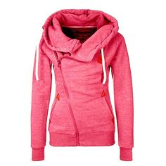 Long Sleeve Hooded Jacket - Jumper on sale $26.99 marked down from $33.58 #fashion #womens #sexy #1901 dopestreet