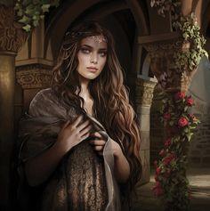 f npc Noble Castle garden beautiful girl, fantasy, book inspiration Book Characters, Fantasy Characters, Female Characters, Fantasy Women, Fantasy Girl, Fantasy Princess, Princess Anna, Fantasy Inspiration, Character Inspiration