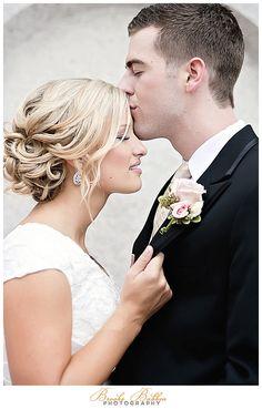 soft vintage updo  #updo #vintage #bridal #soft   Hair & Makeup by Lindsay Lee