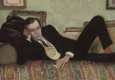 Rex Whistler (1905-1944) Portrait of Cecil Beaton.