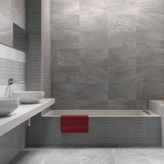 These stylish grey wall tiles come with co-ordinating light grey and patterned wall tiles plus a glossy grey floor tile.  They are perfect for anyone desiring grey kitchen wall tiles or a grey tiled bathroom.