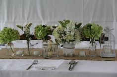 Mix of green and white. www.wanakaweddingflowers.co.nz/gallery.php