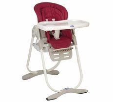 Chaise-haute Polly Magic Scarlet 159€