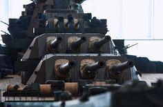 1/10 IJN Battleship Yamato Model @ Yamato Museum, Kure city, Hiroshima, Japan. 大和ミュージアム- 呉市海事歴史科学館, 広島県呉市宝町. #8E