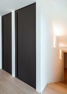 Oak Interior Doors, Interior Windows, Window Design, Door Design, House Design, Mdf Doors, Windows And Doors, Summit Homes, Glass Room Divider