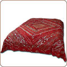 Moroccan bedding, Moroccan and Indian bedspread, Moroccan fabrics, Moroccan pillows, and more. Sitara Sari Bed Cover