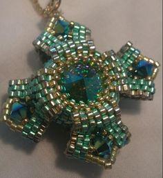 Reversible Pendant Design by Linda Richmond, made by Yolanta Olesinski