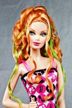 The Traveling Twig: Steffie Barbie Top, Barbie Sets, Barbie Model, Barbie Hair, Doll Hair, Barbie And Ken, Barbie Gowns, Barbie Stuff, Beautiful Barbie Dolls