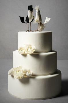 BHLDN Princely Pair Cake Topper  Love it.