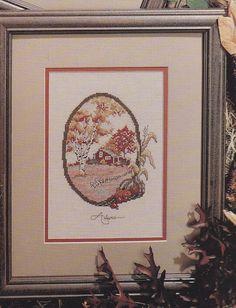 Four Seasons Cross Stitch Patterns: Autumn