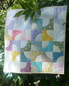 """Frühchendecke """"Drukard's Path"""" Quilts, Blanket, Bed, Home, Stream Bed, Quilt Sets, Ad Home, Blankets, Homes"""