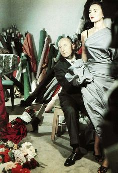 The genius himself: Christian Dior