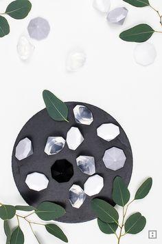 Diamant als Seife - Silikonform Eiswürfel