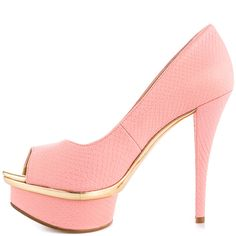 Loveutoo - Pink Gold Syn  Enzo Angiolini $114.99