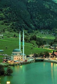Uzungöl - a lake situated to the south of the city of Trabzon, in the Çaykara district of Trabzon Province, Turkey