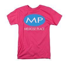 Melrose Place - Melrose Place Logo Adult Regular Fit T-Shirt