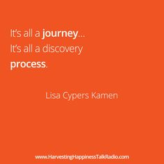 Everything is a process...