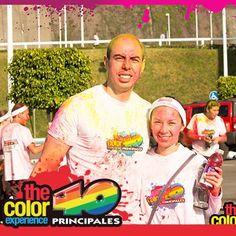 Diviértanse juntos, experience color! Th color experience 40 principales Ciudad de México.