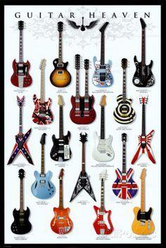 Guitar Heaven Pôsters na AllPosters.com.br