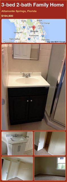3-bed 2-bath Family Home in Altamonte Springs, Florida ►$164,900 #PropertyForSale #RealEstate #Florida http://florida-magic.com/properties/84412-family-home-for-sale-in-altamonte-springs-florida-with-3-bedroom-2-bathroom