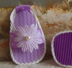 American Girl Doll Clothing Shoes Lavender by sewgrandmacathy, $6.00