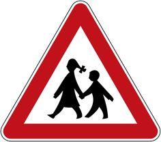 Kinder im Strassenve