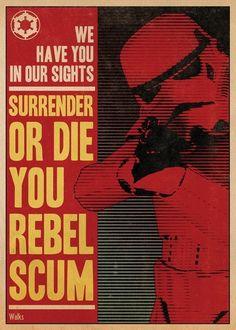 Star Wars Propaganda Poster 8