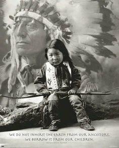 Indossa la mia forza figlio mio. Sono io che te la dono.  Cheyenne