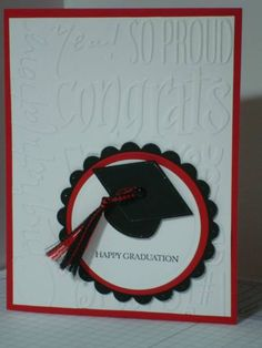 Graduation Card by kimmiller - Cards and Paper Crafts at Splitcoaststampers